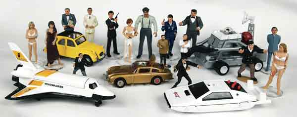 Corgi Icon James Bond Figurines