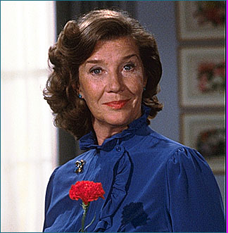 Miss Moneypenny (Lois Maxwell) in the first 14 Bondfilms