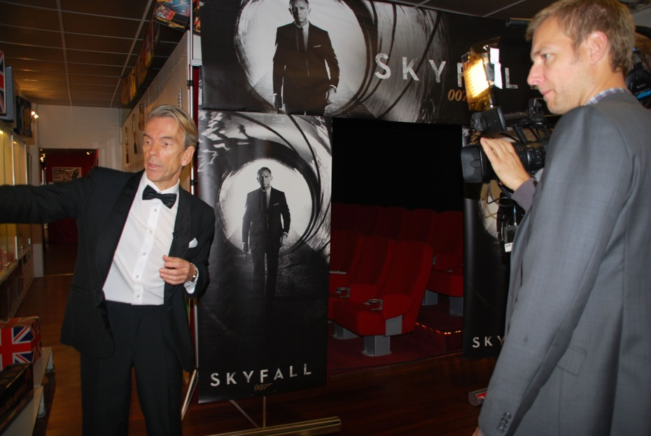 James Bond and fotograf Brynjar Widerøe