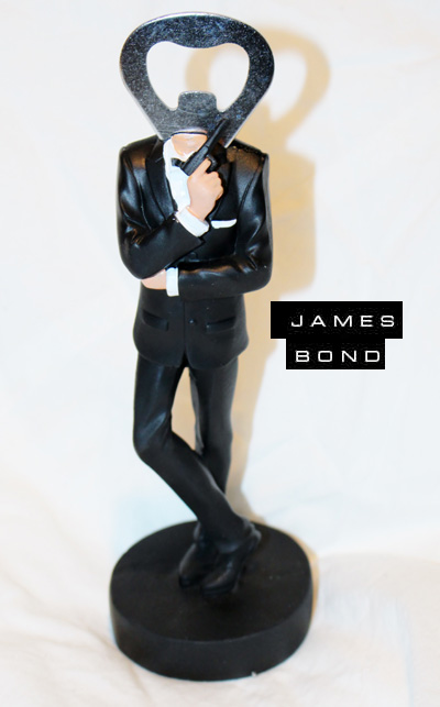 James Bond Opener for bottle  € 20 Kr 198:-