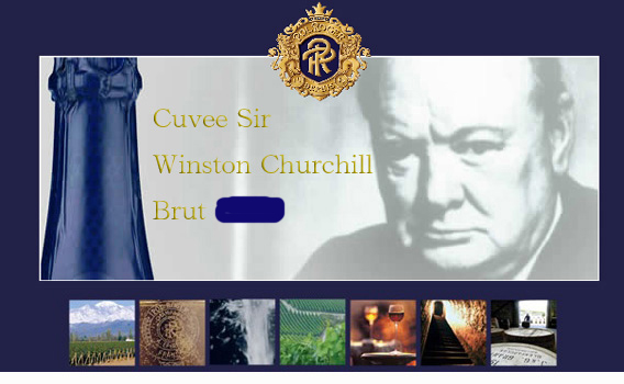 Champagne Cuvée Sir Winston Churchill - Champagne Pol Roger