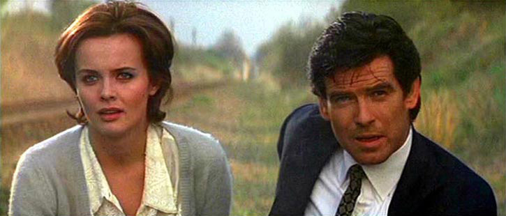 GoldenEye (1995) Natalya Fyodorovna Simonova Izabella Scorupco  Pierce Brosnan as Agent 007 James Bond