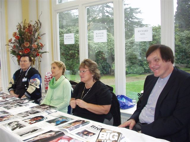 Michael Billington ,Blanche Ravalec,Diane (wife to ) Richard Kiel