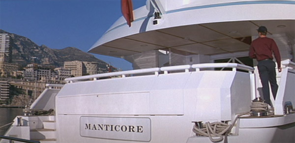 'Manticore' seen in the Monte Carlo sequence was actually called 'Northern Cross'. Finland
