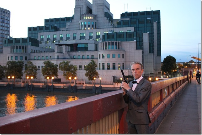 MI6 James Bond Gunnar Schäfer
