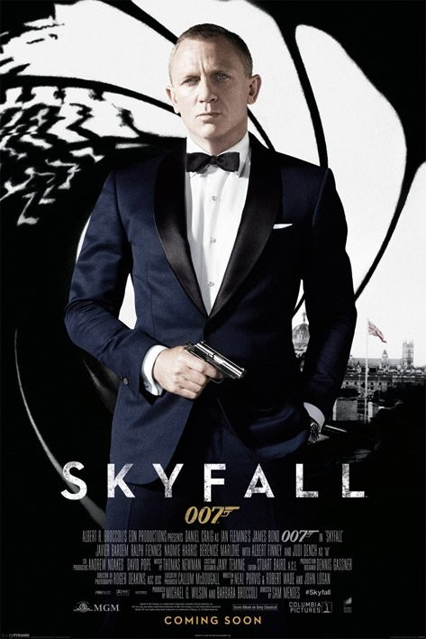 Skyfall Daniel Craig James Bond Movie