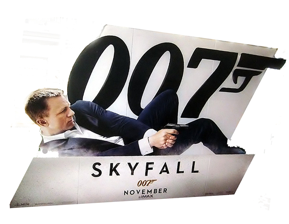 JAMES BOND: SKYFALL Theater Standee
