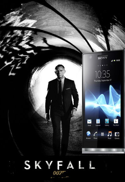 Sony Xperia T is James Bond phone in Skyfall